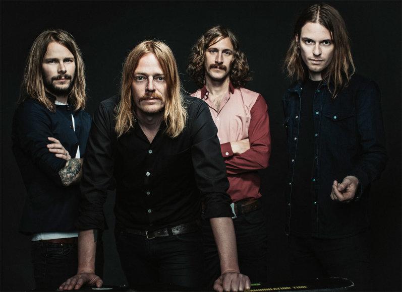 """Švedijos retro roko grupė """"Graveyard"""""""