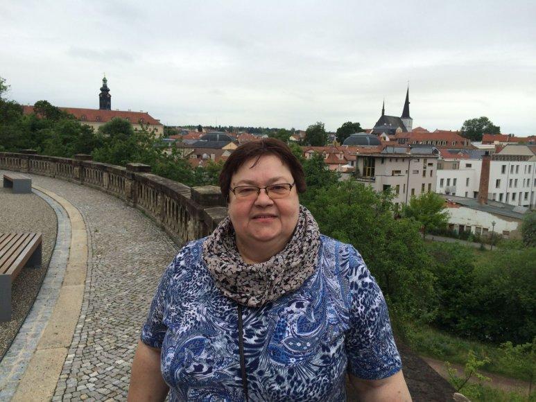 Liucija Citavičiūtė šių metų vasarą Vaimare (Vokietija)