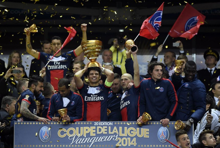 PSG triumfas Prancūzijos taurės finale