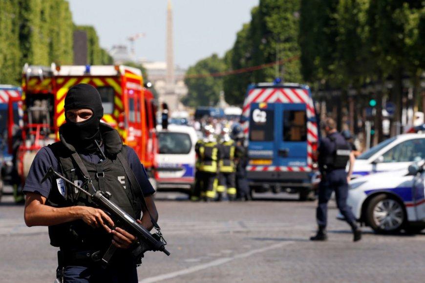 Incidentas Paryžiuje