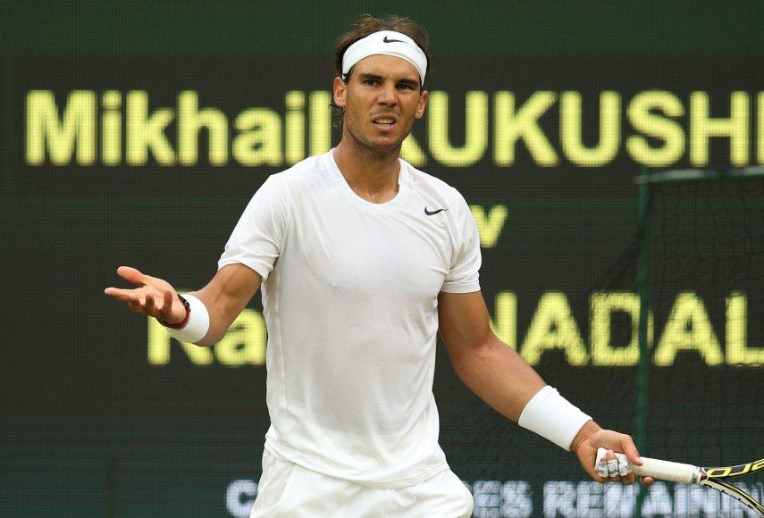 Rafaelis Nadalis Vimbldone siekia trečio nugalėtojo titulo