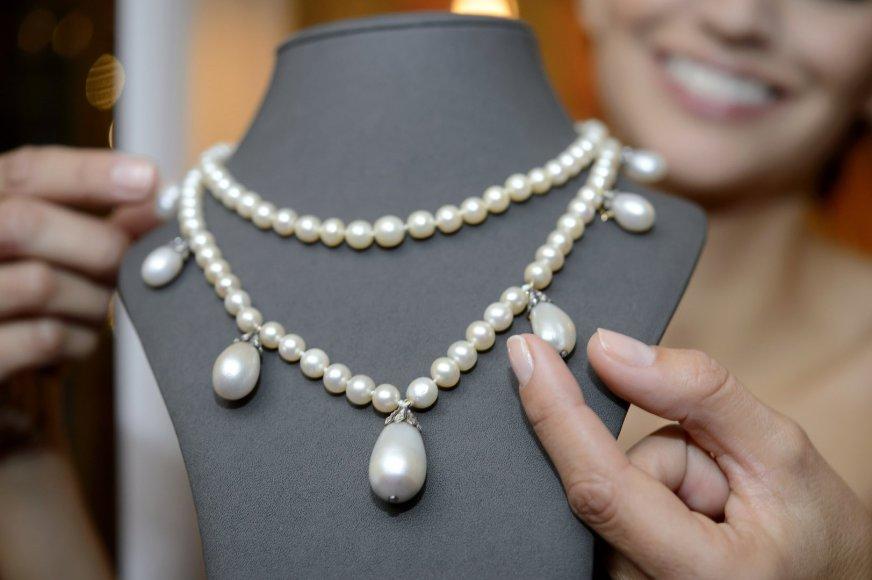 Josephinai de Beauharnais priklausęs perlų vėrinys