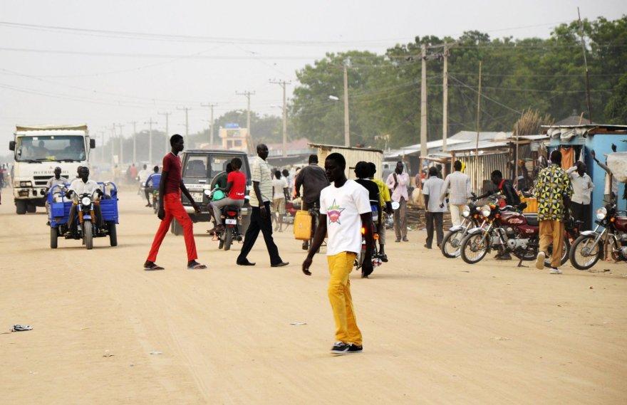 Gatvė Pietų Sudane