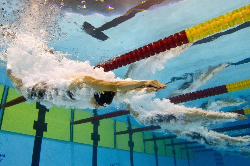 200 m plaukimo peteliške moterų startas