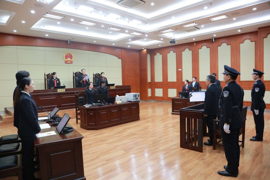 Asociatyvinė iliustracija: teismas Kinijoje