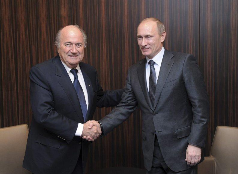 Seppas Blatteris ir Vladimiras Putinas