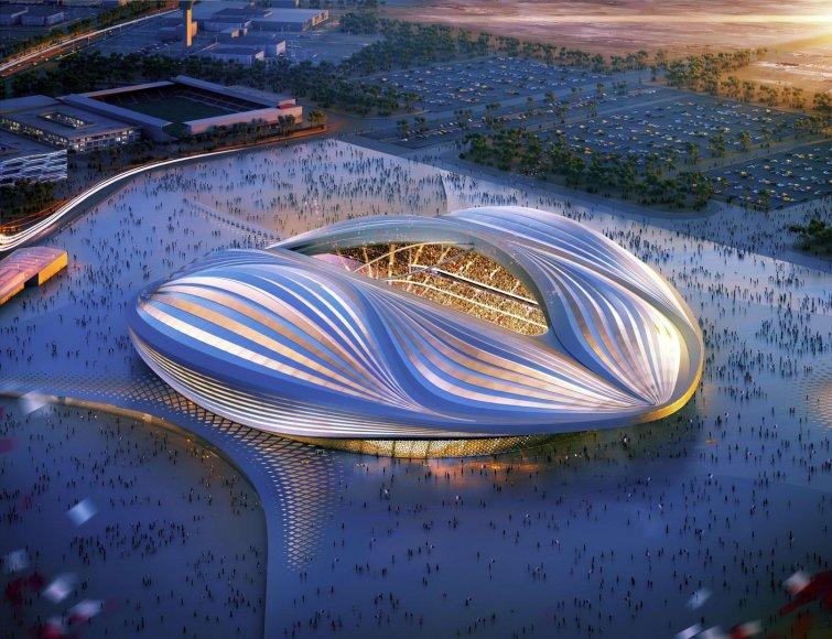 Katare pasaulio futbolo čempionatui 2022-aisiais planuojamas pastatyti stadionas