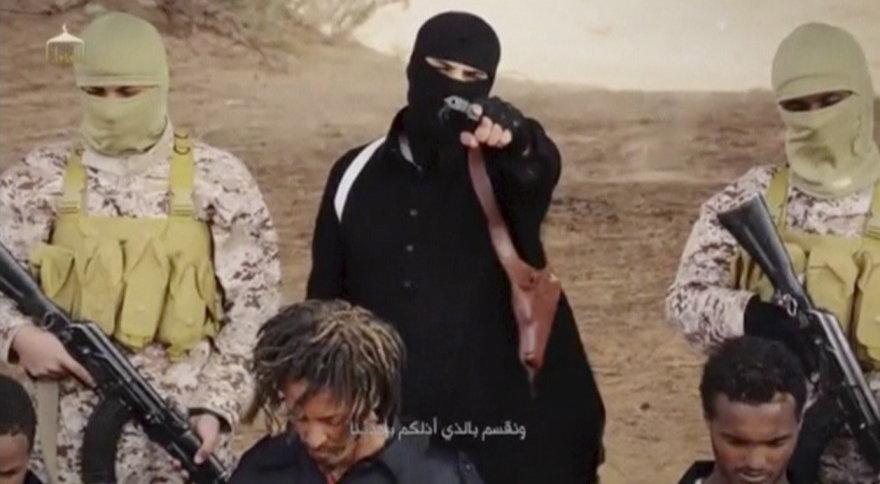 """""""Islamo valstybės"""" džihadistai įvykdo egzekuciją krikščionims"""