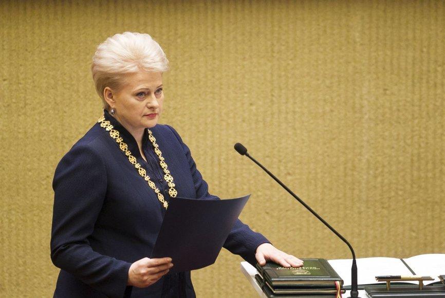 Prezidentės Dalios Grybauskaitės inauguracija.