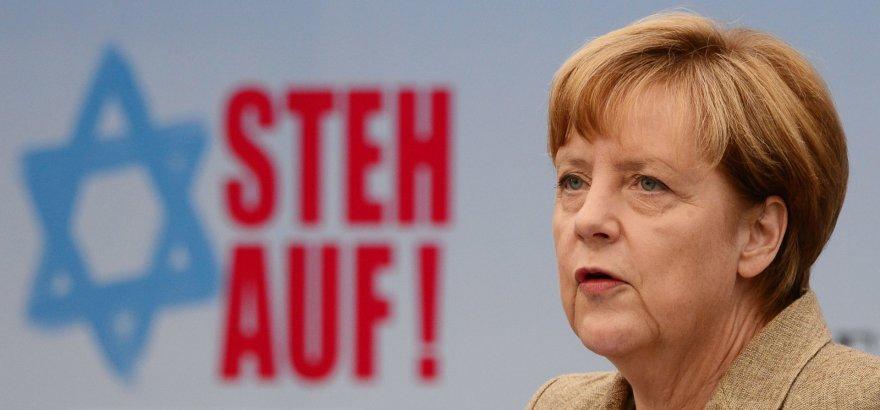 Angela Merkel centrinės Vokietijos žydų tarybos renginyje