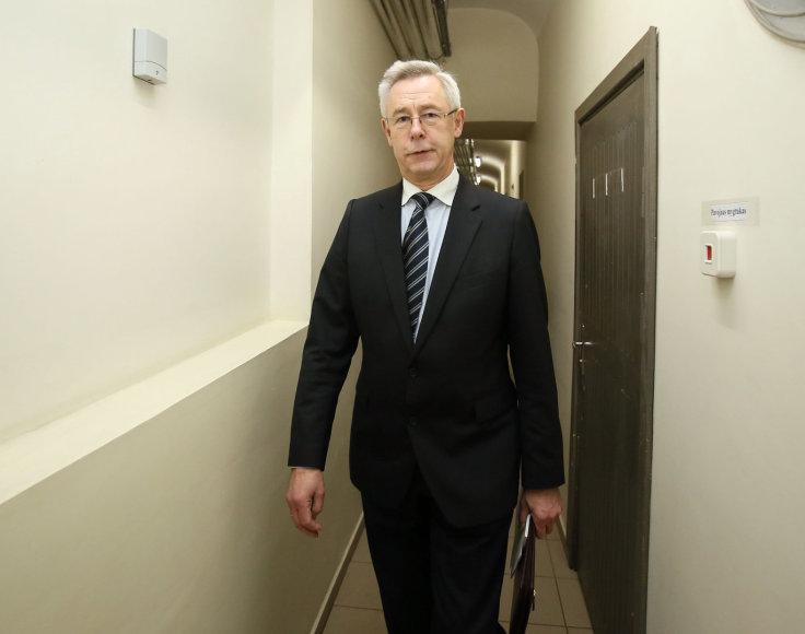 Seimo kontrolierius Augustinas Normantas