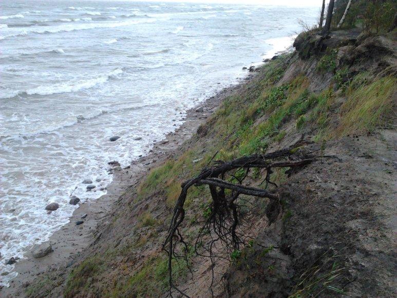 Audra Baltijos jūroje, ties Olando kepure 2014 m. rugpjūčio 20 d.