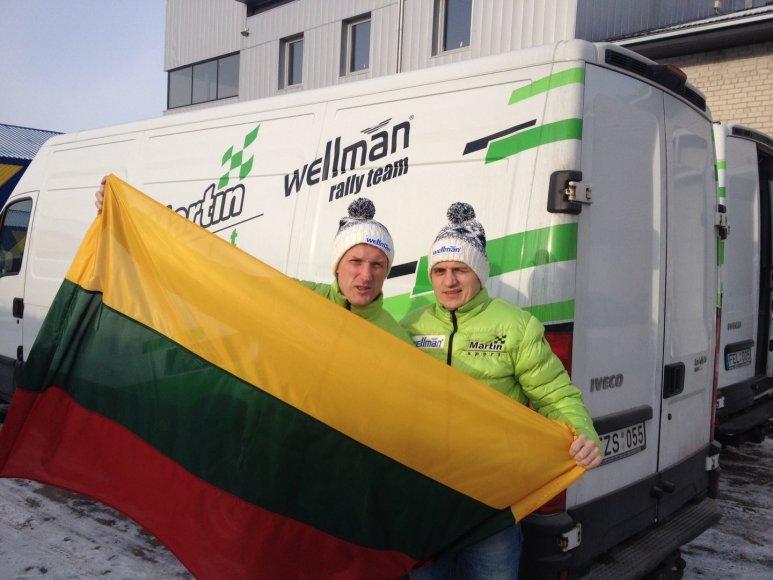 Ramūnas Šaučikovas ir Martynas Samuitis