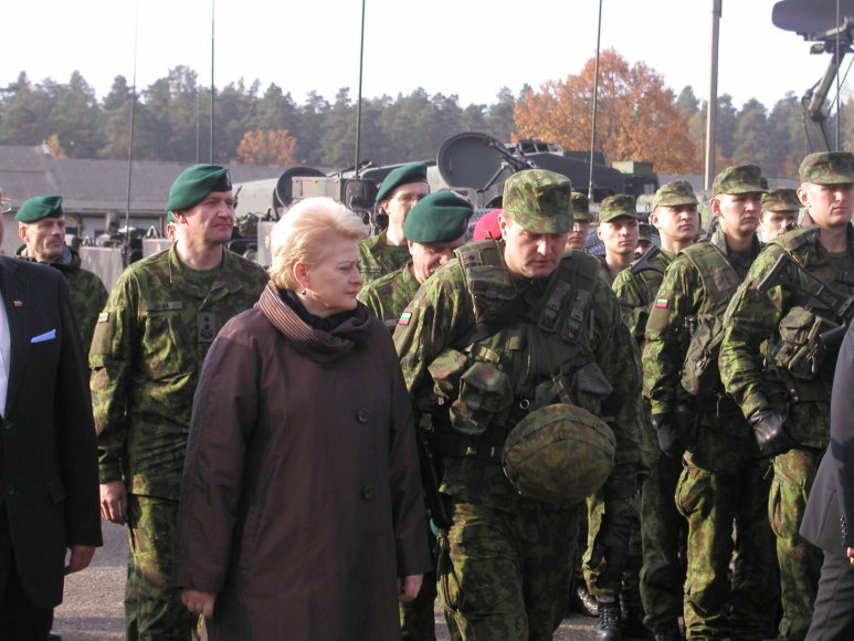 Dalia Grybauskaitė: Lietuva pasirengusi neprognozuojamų kaimynų diktuojamiems iššūkiams