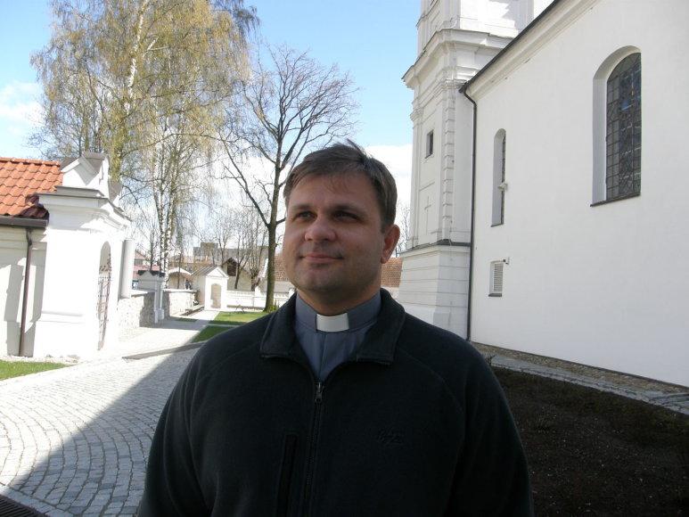 Marijampolės šv. Arkangelo Mykolo parapijos klebonas Andrius Šidlauskas