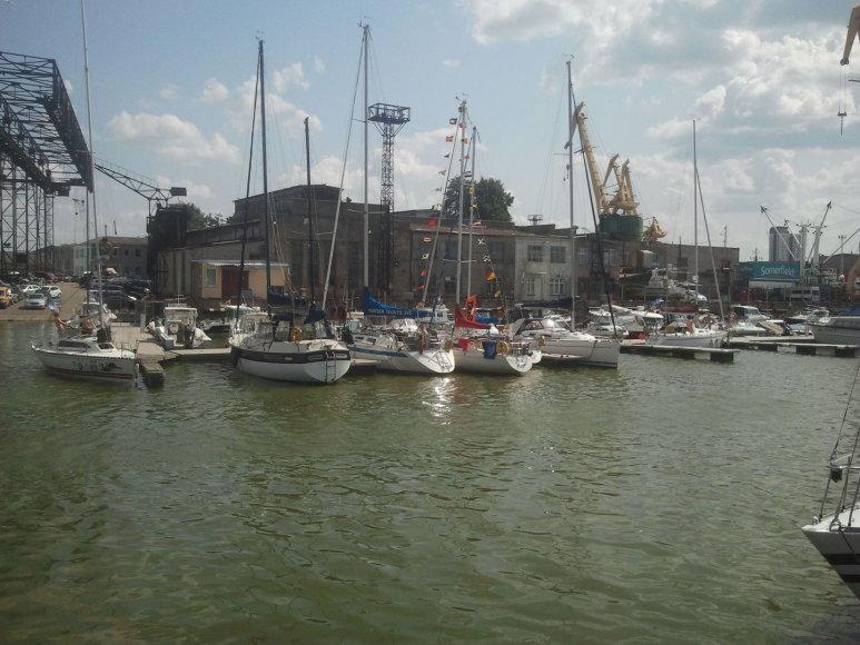 Jūros šventės proga surengta ir jubiliejinė – 60-oji Kuršių marių regata