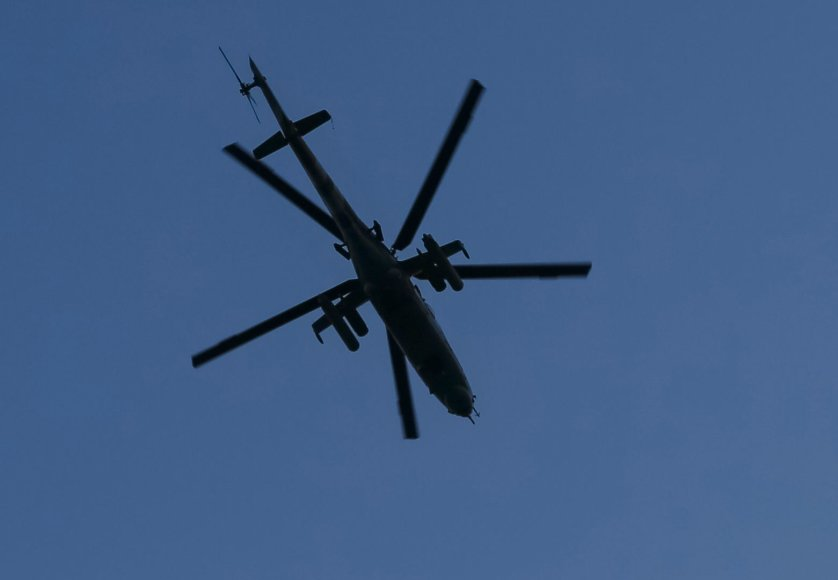 Sraigtasparnis Mi-8
