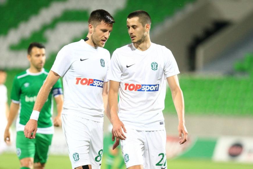 """Čempionų lyga: """"Ludogorec"""" – """"Žalgiris"""""""
