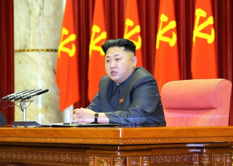 Kim Jong-unas švenčia 31-ąjį gimtadienį
