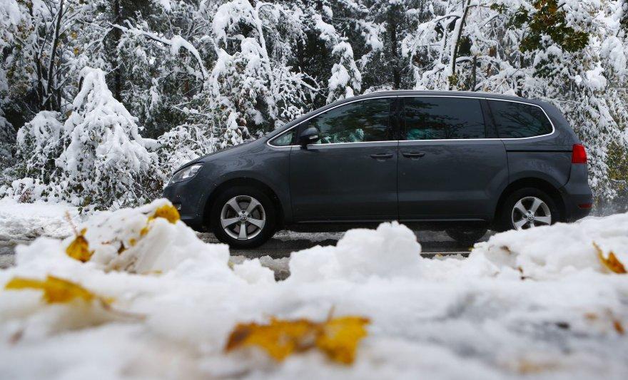 Sniegas Austrijoje