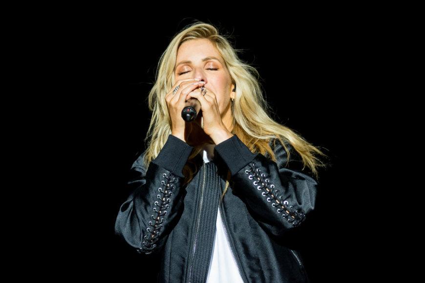 "Ellie Goulding pasirodymas ""Positivus"" festivalyje"