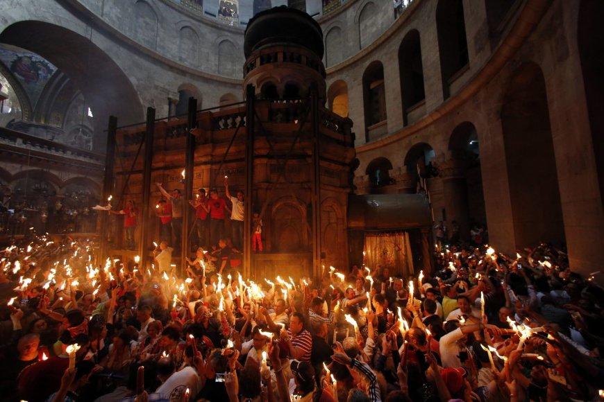 Ceremonija Jeruzalėje