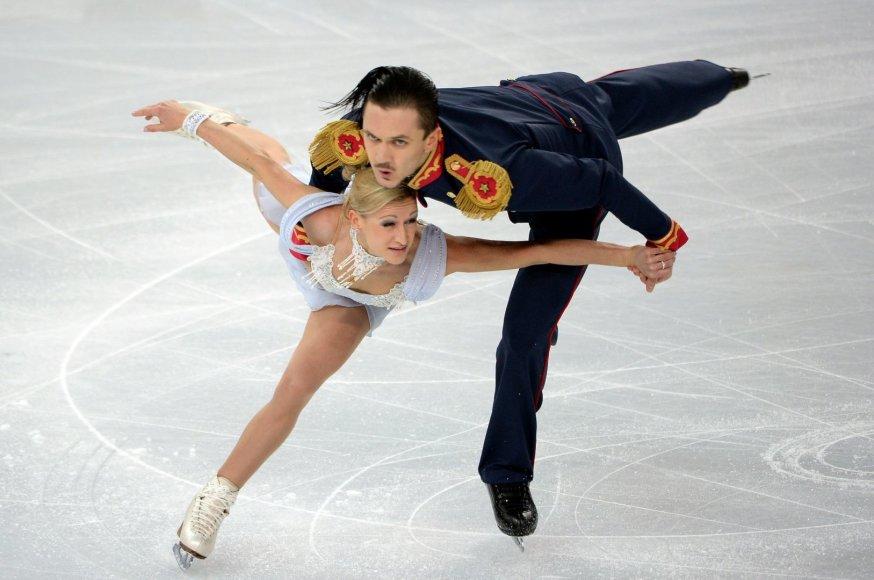 Tatjana Volosožar ir Maksimas Trankovas