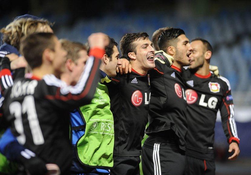"""Bayer"" futbolininkų triumfas"