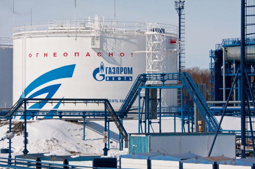 """""""Gazpromneft"""" naftos rezervuaras"""