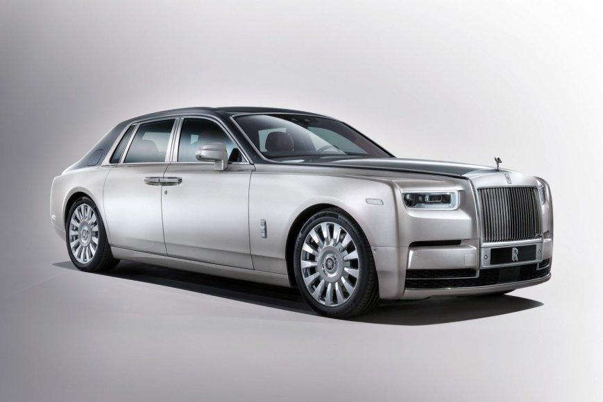 """Naujasis """"Rolls-Royce Phantom"""""""