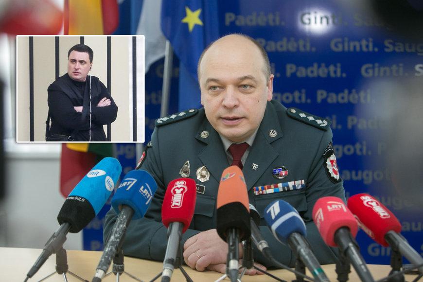 Vyras, grasinęs susprogdinti prezidentūrą ir Vilniaus apskrities vyriausiojo policijos komisariato viršininkas Kęstutis Lančinskas