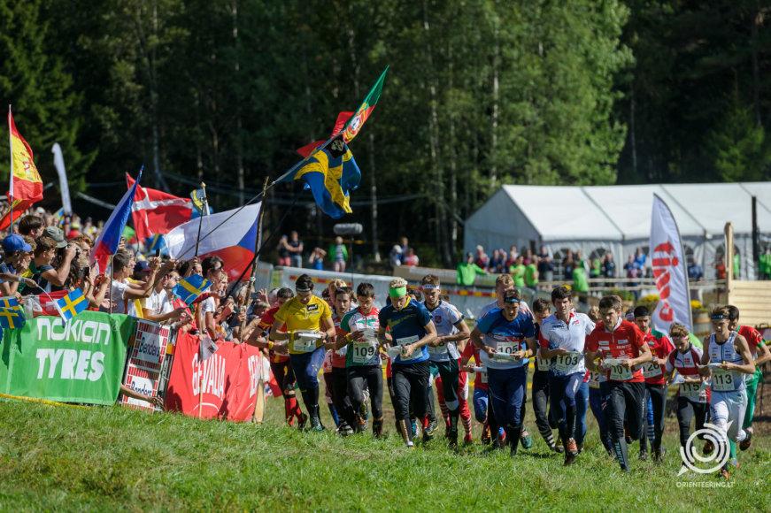 Estijoje vyko orientavimosi pasaulio čempionatas