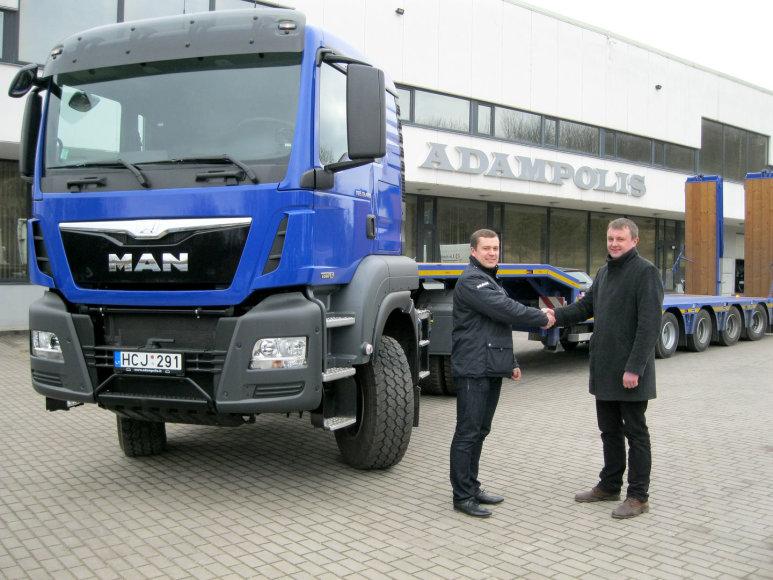 """""""MAN"""" sunkvežimis"""