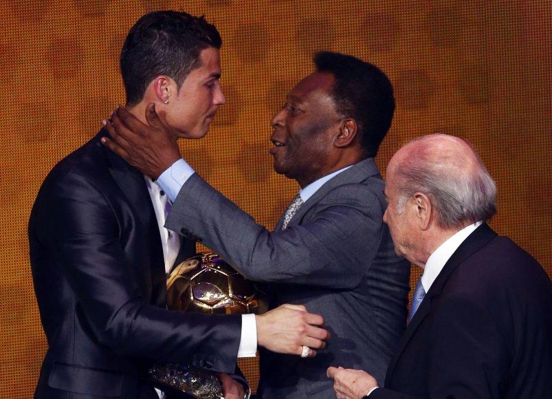 Cristiano Ronaldo ir Pele