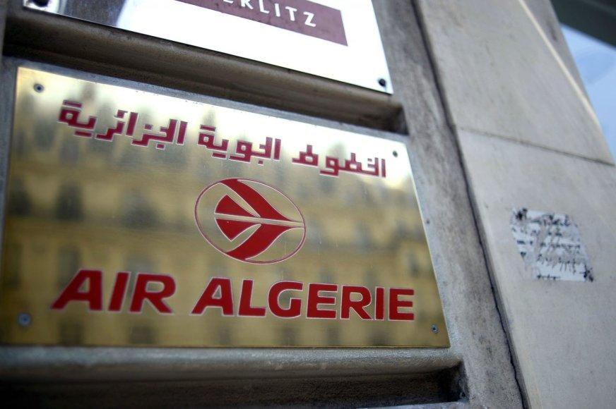 "Sudužo ""Air Algerie"" lėktuvas"