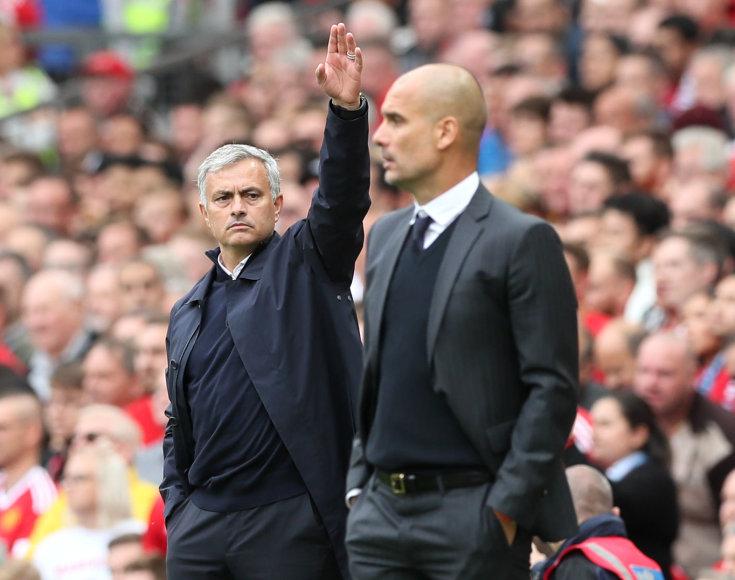 """Manchester United"" ir ""Manchester City"" mačas"