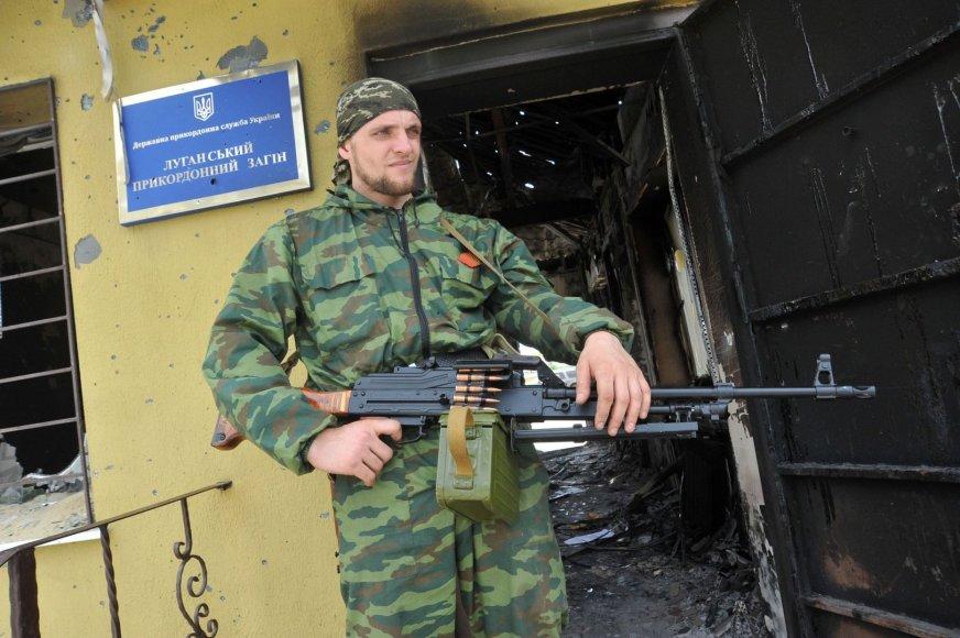 Teroristas Ukrainos pasienyje