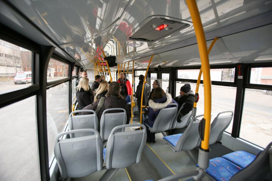 Kauno autobusai kvepės gėlėmis