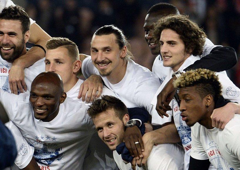 PSG futbolininkai – Prancūzijos čempionai