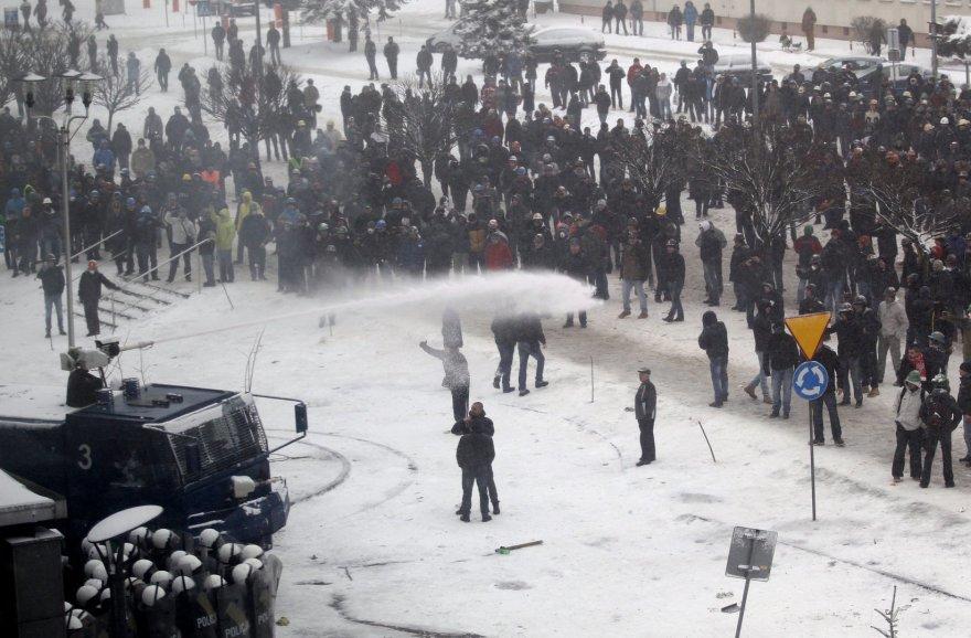 Angliakasių streikas Lenkijoje