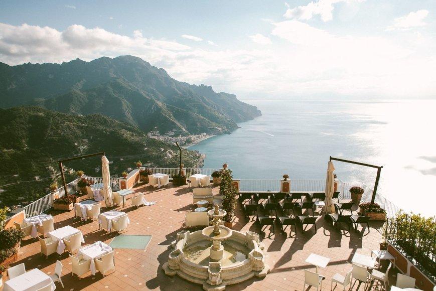 Italijos, kaip vestuvių šalies, pristatymas