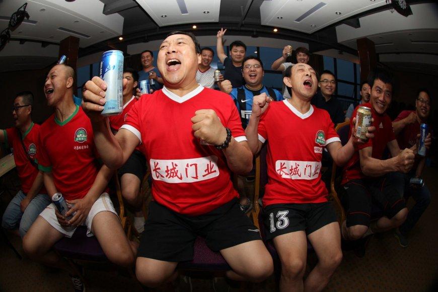Kinijos futbolo sirgaliai