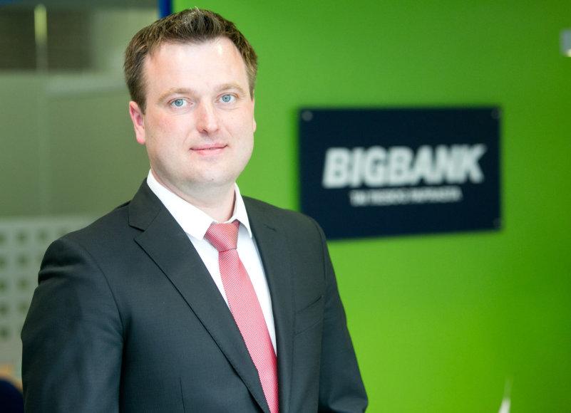 """Bigbank"" AS Lietuvos filialo vadovas Rolandas Norvilas"