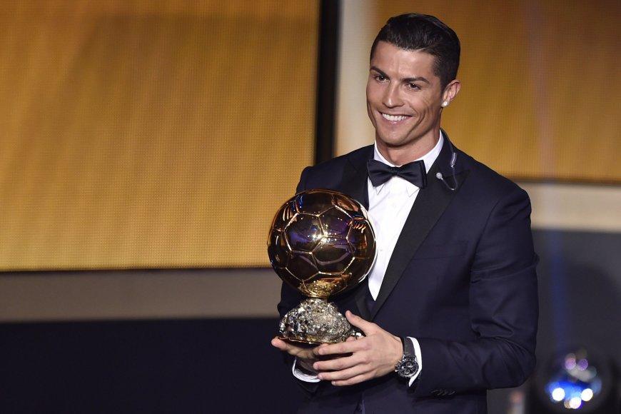 Cristiano Ronaldo trečią kartą tapo geriausiu pasaulio futbolininku