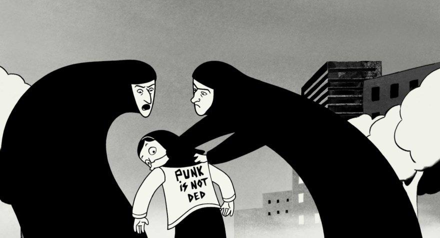 """Kadras iš filmo """"Persepolis"""""""