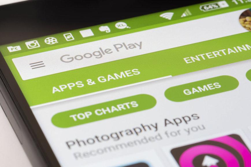 """""""Google Play"""" programėlių parduotuvė"""