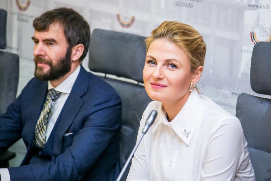 Evaldas Valčiukas, Greta Kildišienė