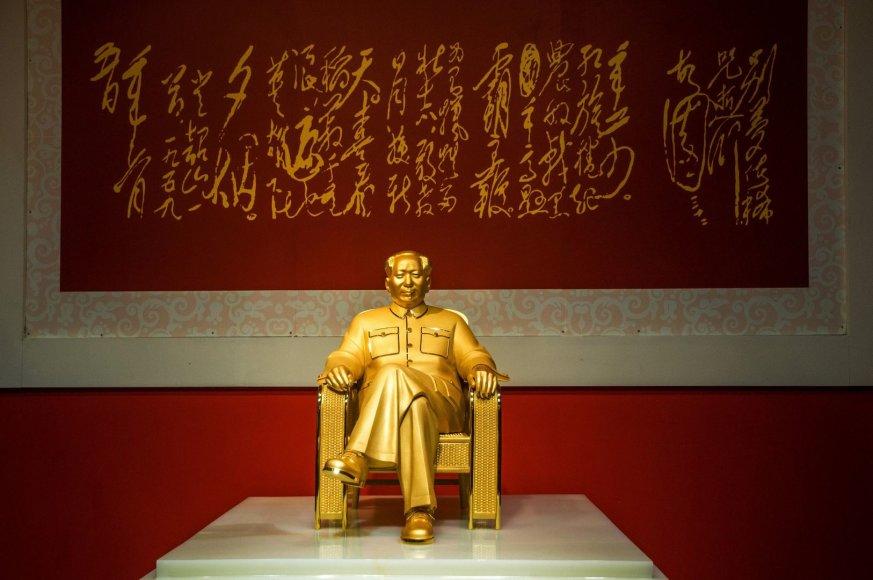 Mao Zedungo statula