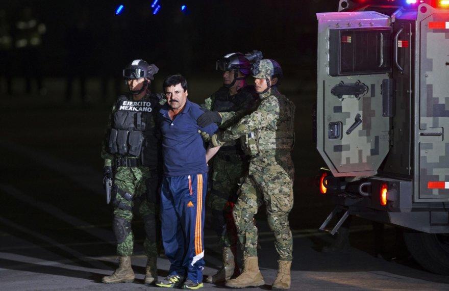 Sučiuptas iš kalėjimo pabėgęs narkobaronas El Chapo