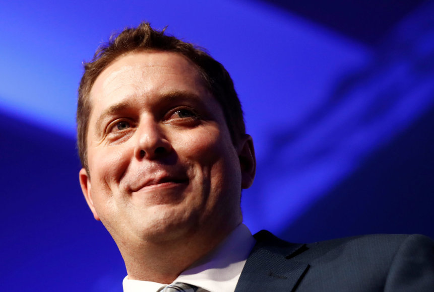 Naujasis Kanados konservatorių lyderis Andrew Scheeras